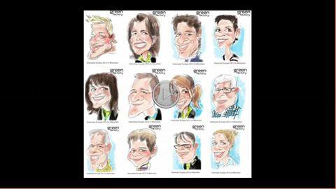 iPad Karikatur von Bülent Ceylan