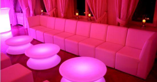 Lounge-Events Mietmöbel