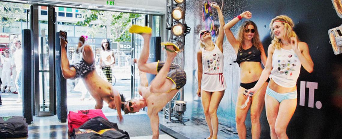 Nike Kampagne THE CHOSEN, Public Event