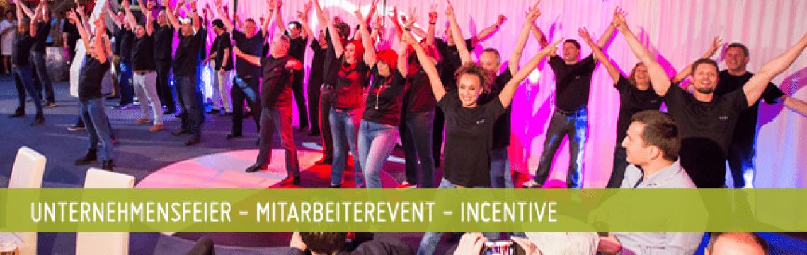 Unternehmensfeier - Mitarbeiterevent - Incentive Ob Weihnachtsfeier, Sommerfest oder Ihr internes Event. Kein Problem: Wir kreieren die passende Story zu Ihrem Event!