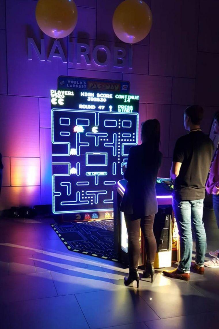 XXL Pacman, VR Simulatoren und weitere interaktive Messeattraktionen