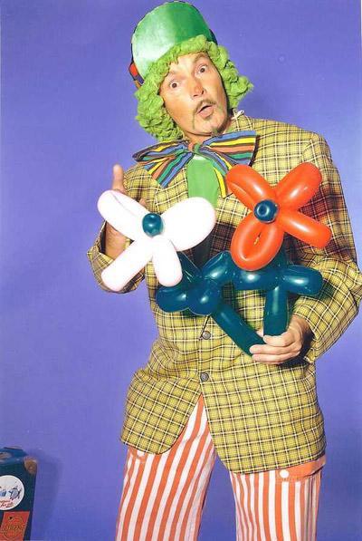 Luftballon-Programm Clown Klaus mit seinem Luftballon-Programm