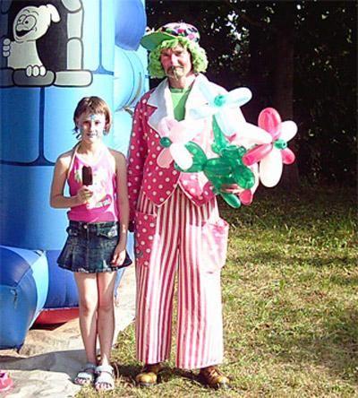Programm für Kinder Clown-Programm für Kinder