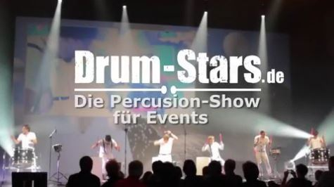 Drum-Stars: Die Percussion-Show für Events