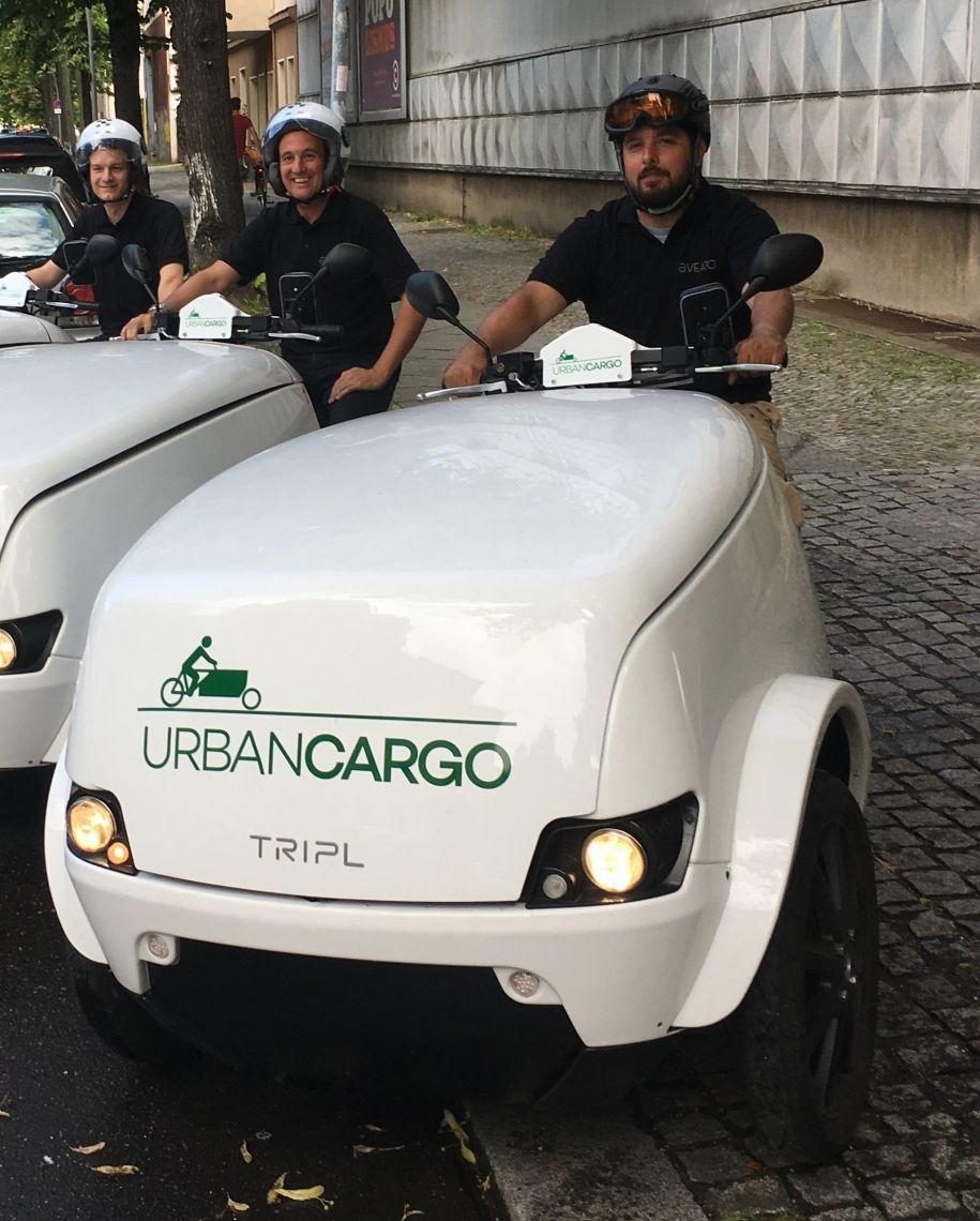 E Cargo Team Wir liefern elektrisch, den Umweltschutz ist keine Geschmackssache!