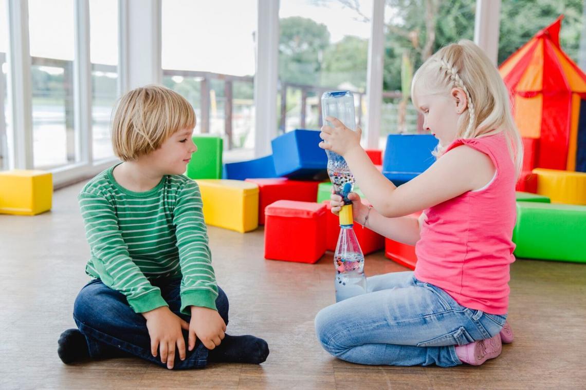 Momentaufnahme Kinderlabor: Wassertornados
