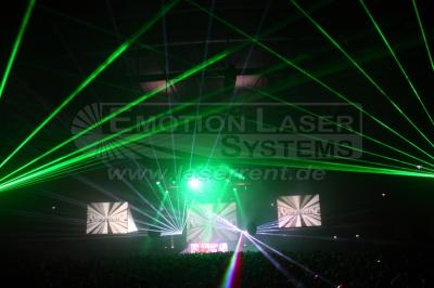 Großveranstaltung Eine professionelle Lasershow macht Tanzveranstaltungen interessanter, lockt Gäste und unterstreicht die Professionalität und Einzigartigkeit der Veranstaltung.