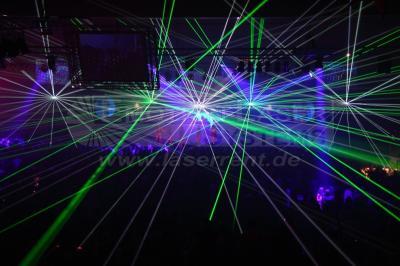 Großveranstaltung Unsere Lasershows sind Eyecatcher für jede Veranstaltung.