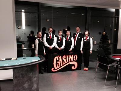 Unser Casino-Team Kompetent und freundlich - so erwartet Sie unser Casino-Team zu Ihrer Las Vegas Night.