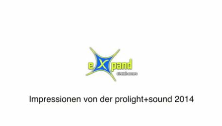 eXpand stretch covers auf der ProLight + Sound 2014