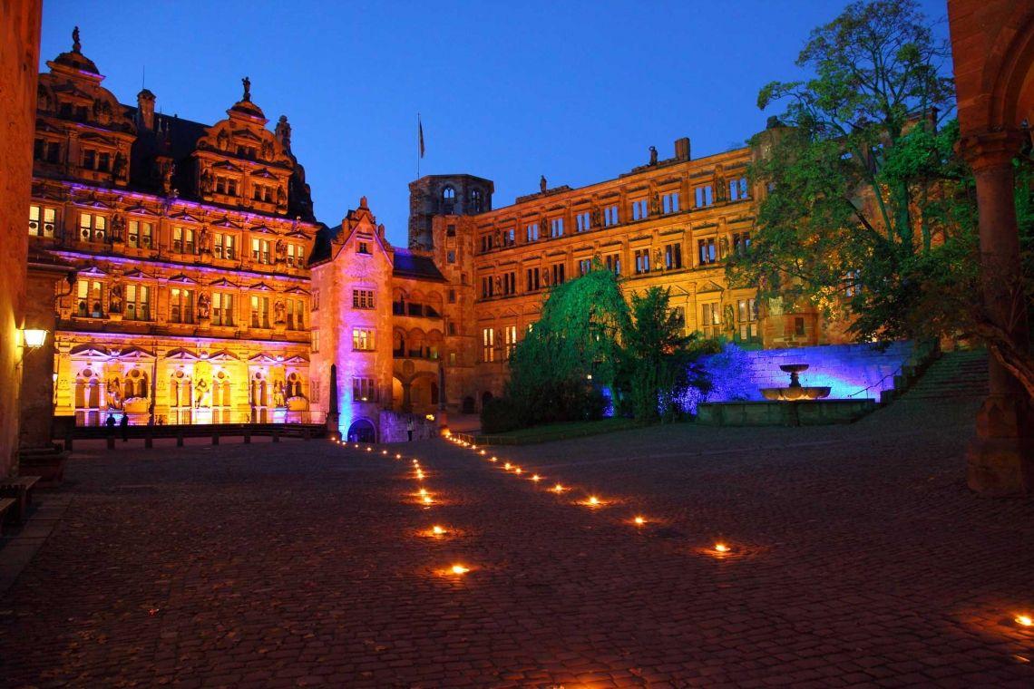 Heidelberger Schloss Gastronomie