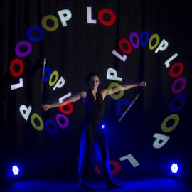 LOOOOP  Lichtshow und Feuershow aus Berlin