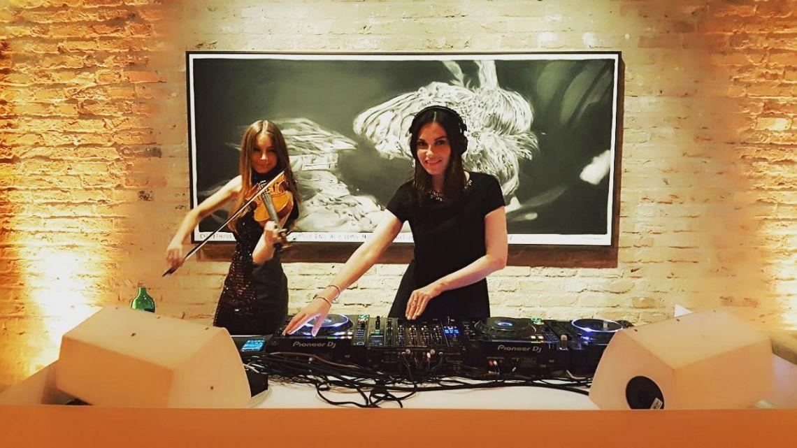 DJ Plus Violine Dinner & Lounge Music