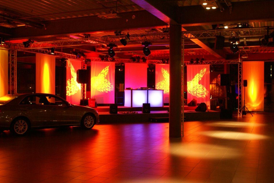 Ton und Lichttechnik, Bühnentechnik