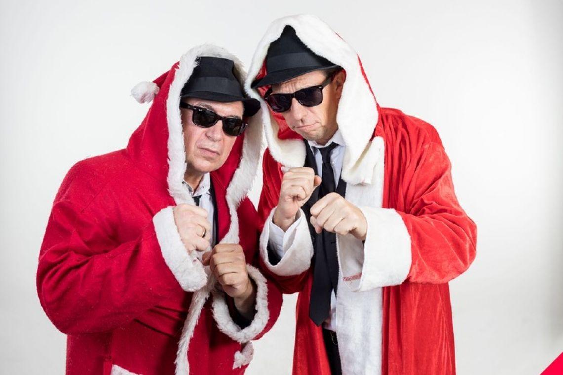 Berlin Brothers Comedian Bernd Kroll  und Oliver Hardt als Berlin Brothers im Weihnachtslock!!!