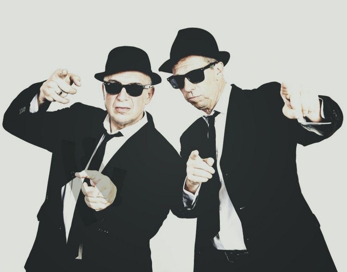 Berlin Brothers Comedian Bernd Kroll und Oliver Hardt als berlin Brothers