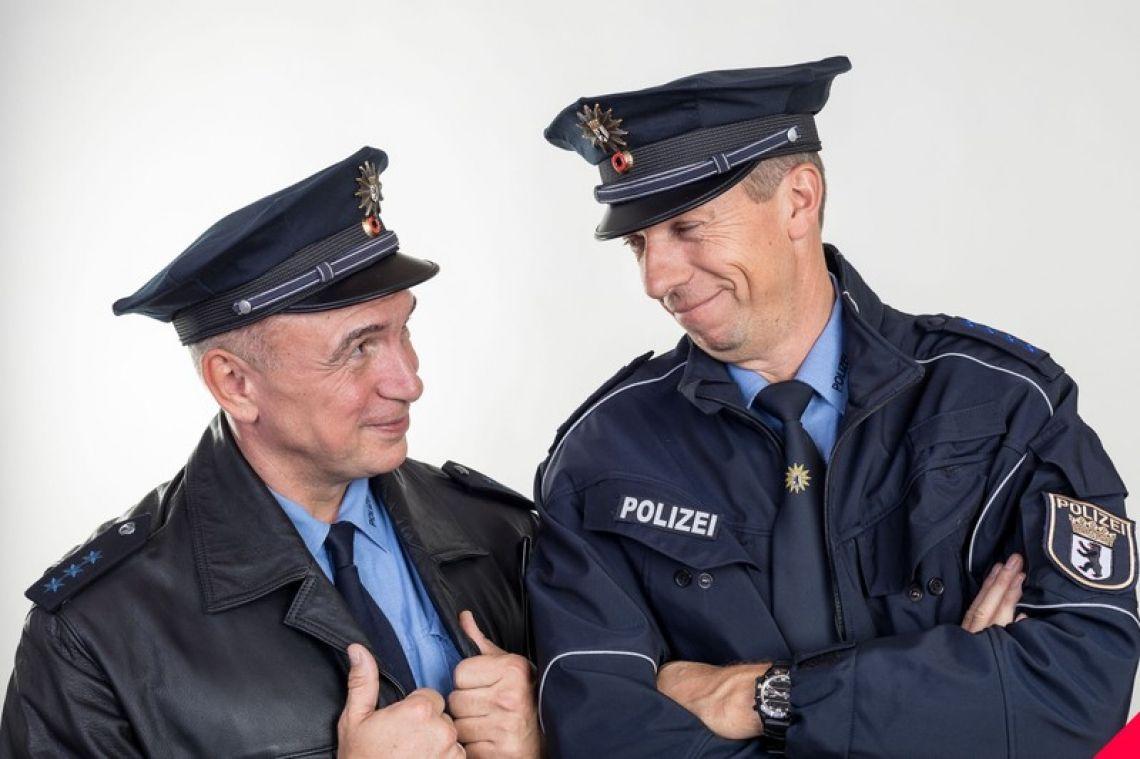 Achim & Klaus, die Comedy Polizisten Bernd Kroll und Oliver Hardt