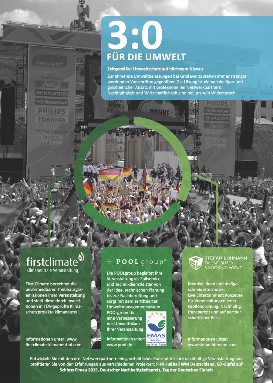 Sustainable Event Solutions - Das nachhaltig agierende Partnernetzwerk für Veranstaltungen jeder Größenordnung
