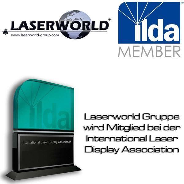 Laserworld Gruppe wird ILDA Mitglied