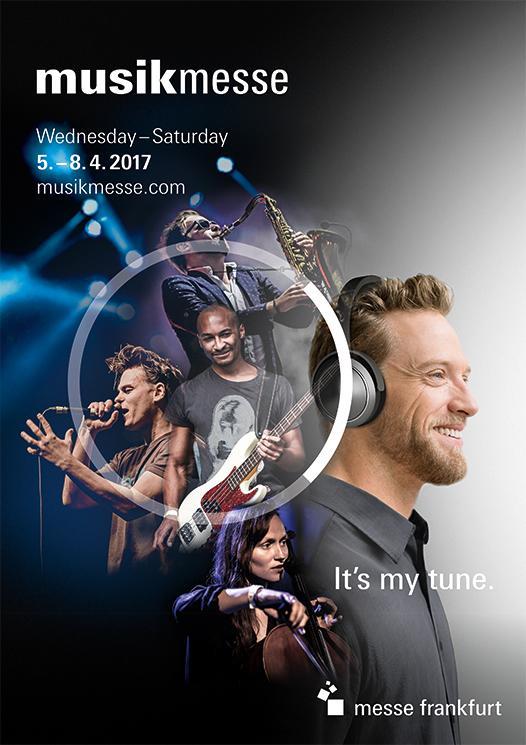 Musikmesse 2017: Veranstalter geben Datum bekannt - drei Tage Überschneidung mit Prolight + Sound