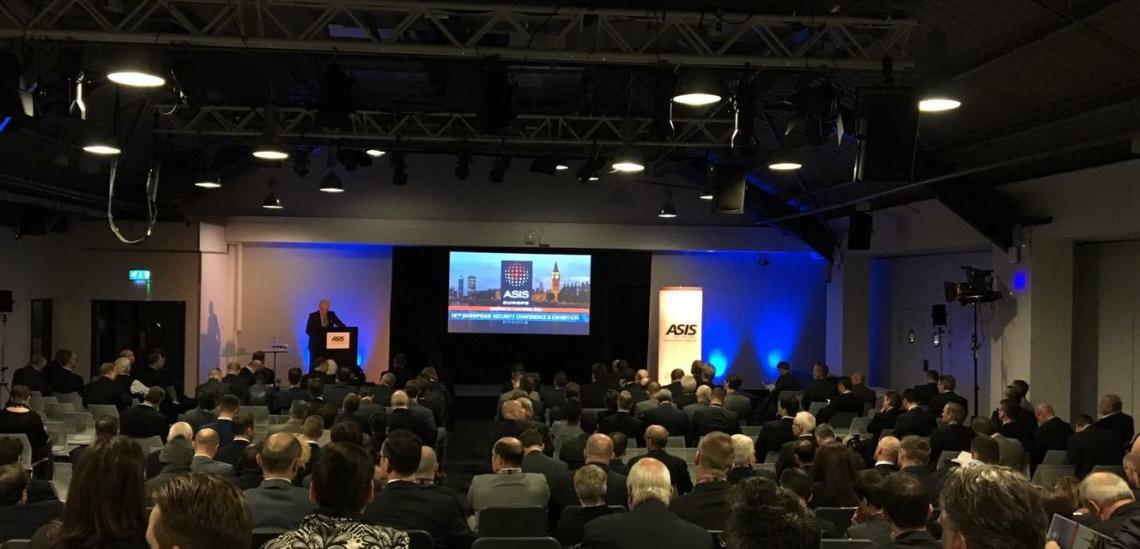 B&B unterstützt die 15. ASIS Sicherheitskonferenz in London