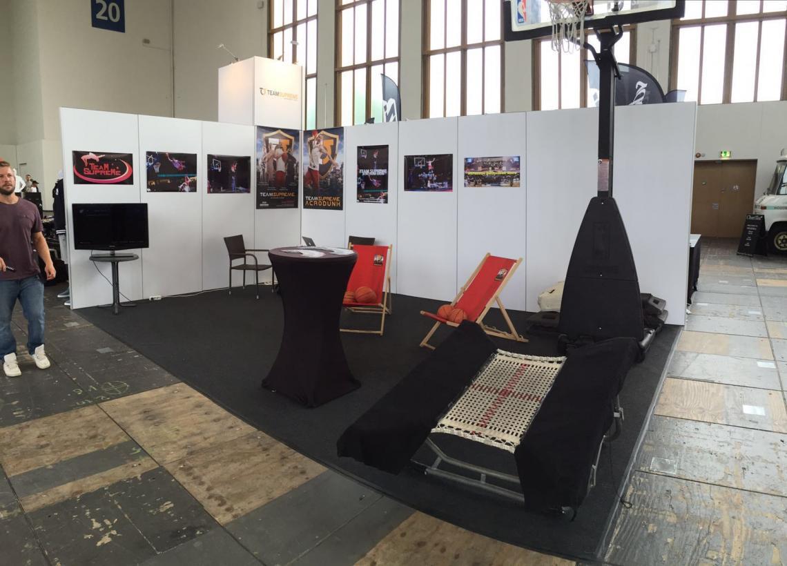Team Supreme auf der BBall Expo Berlin 2016