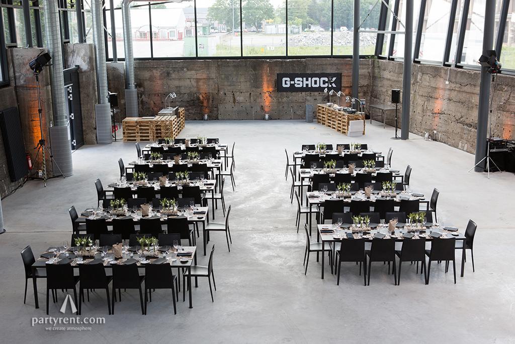 Event im Kesselhaus München – Dinner im Kohlebunker