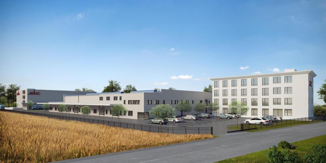 Neubau der Zentrale der HELOT GmbH in Dormagen