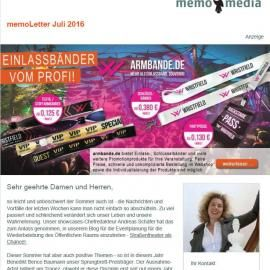 memoLetter 07.2016