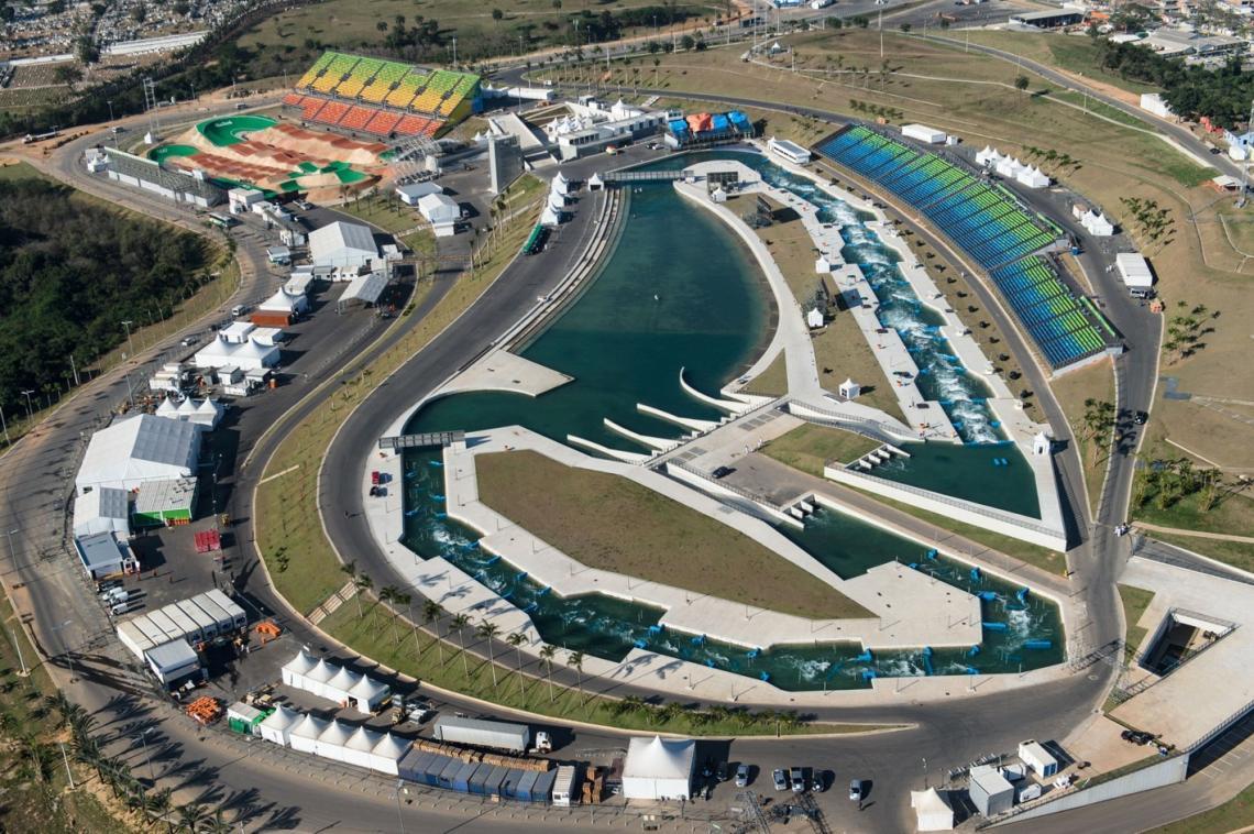 40.000 m² Zelte errichteten Losberger und Arena Group