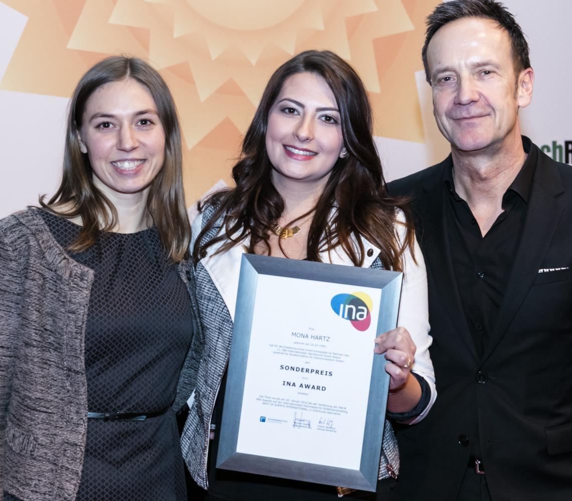 12. INA-Award: Hochkarätige Jury gespannt auf Eventideen