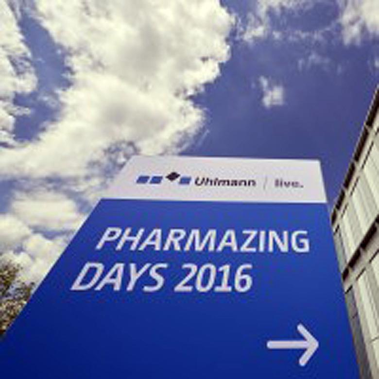 Gipfeltreffen der Pharmabranche - PHARMAZING DAYS 2016