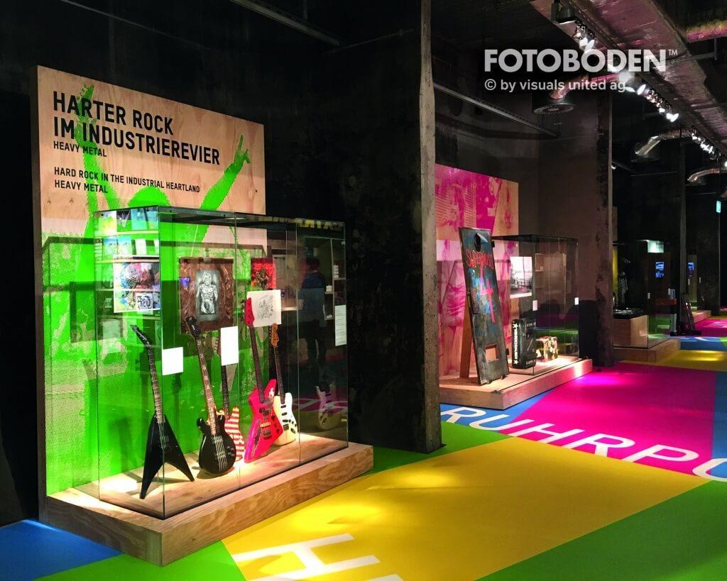 """Ausstellung """"Rock und Pop im Pott"""" im Ruhr Museum Essen"""