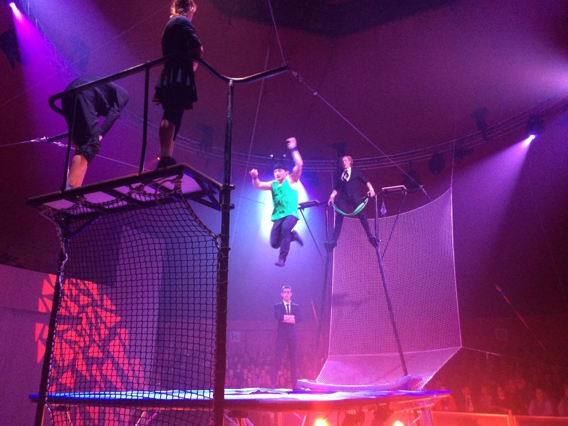 Europa trifft sich in Wiesbaden - European Youth Circus 2016