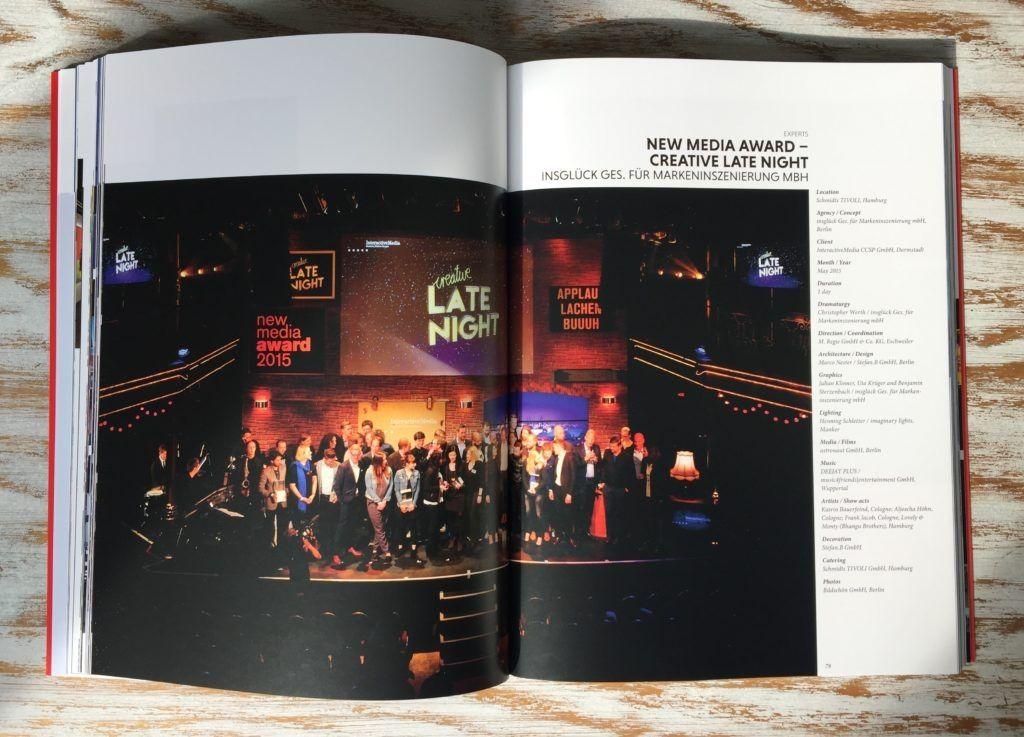 Projekt DEEJAY PLUS glänzt im Eventdesign Jahrbuch