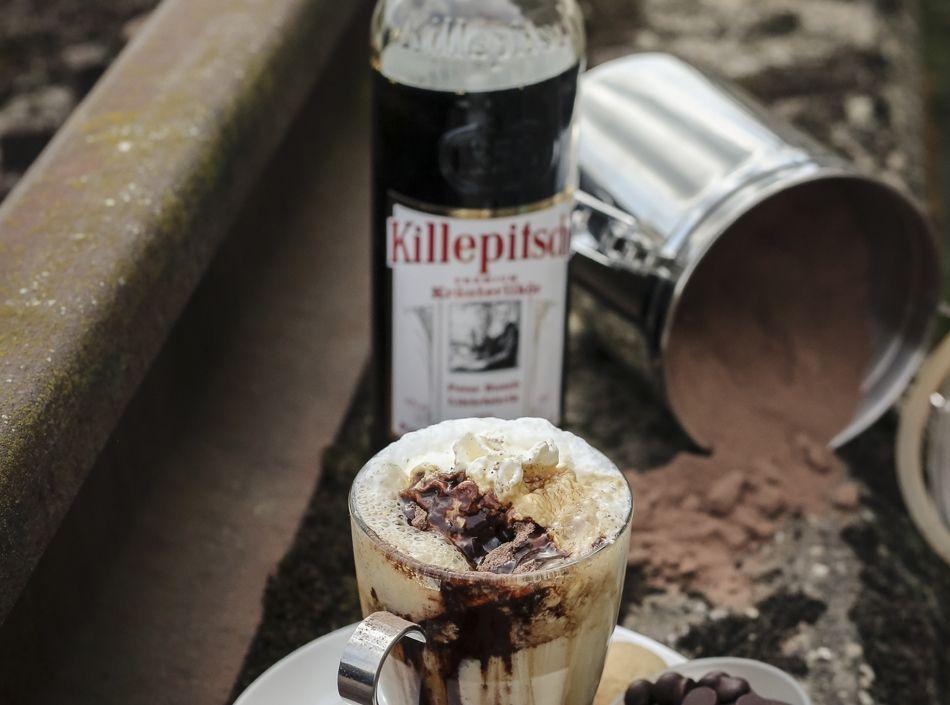 Killepitsch mit neuen kühl-heißen Cocktails für Gastronomen – Ellen Kamrad organisiert Fotoshooting