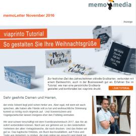 memoLetter 11.2016