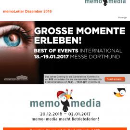 memoLetter 12.2016