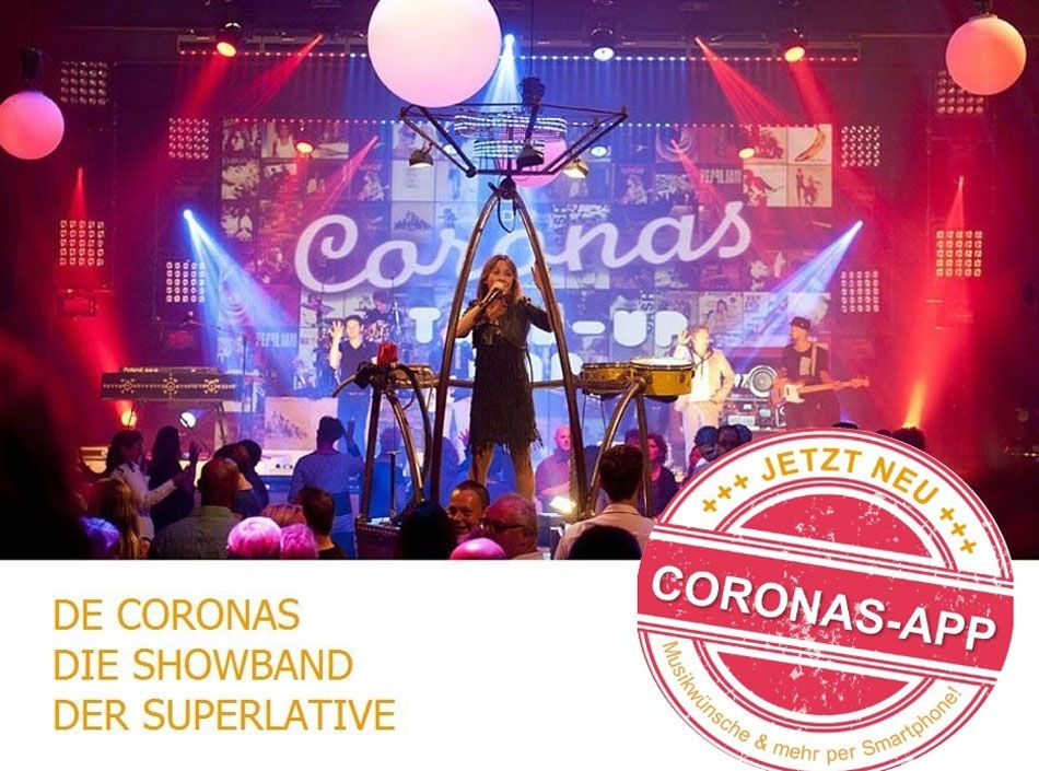 Partyband De Coronas auf der Best of Events International und der Internationalen Kulturbörse