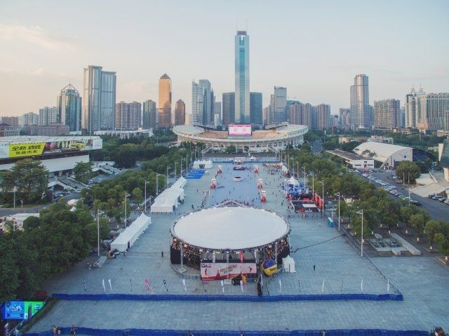 Magic Sky für die 3x3 World Championships in Guangzhou