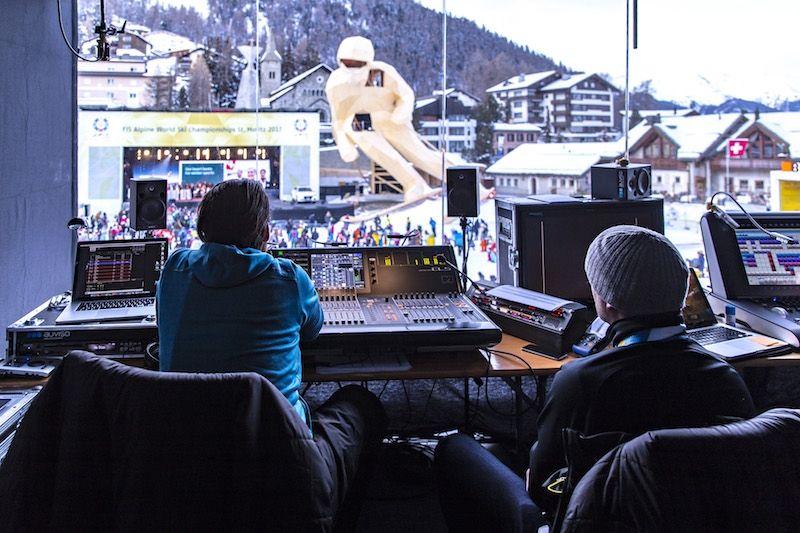 Riedel unterstreicht in St. Moritz seine Vorreiterrolle in puncto Kommunikation