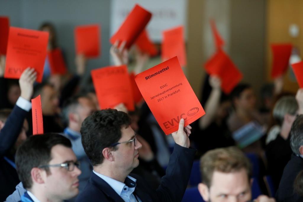 Jahreshauptversammlung des EVVC in Frankfurt