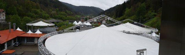 Magic Sky beim Firmenjubiläum 200 Jahre Duravit in Hornberg