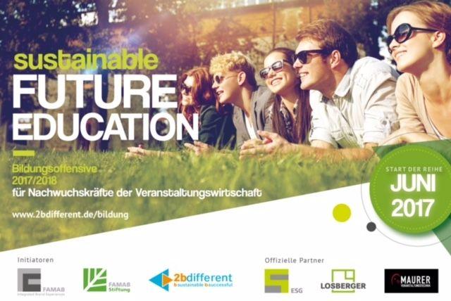 """Nachhaltige Bildungsoffensive 2017/2018 """"sustainable Future Education"""" startet!"""