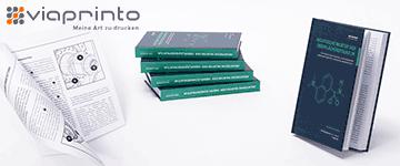 viaprinto unterstützt Selbstverleger, Industrie und Handel