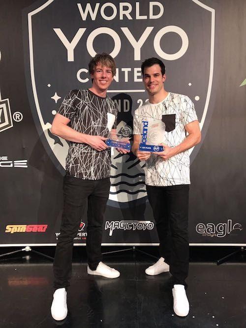 Schweizer Show-Duo wird Yo-Yo-Weltmeister