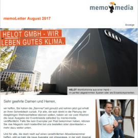 memoLetter 08-2017