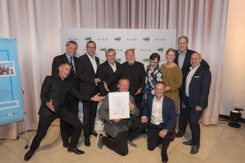 URBANATIX erhält den europäischen Kulturpreis NICE 2017