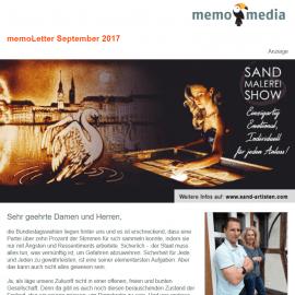 memoLetter 09-2017