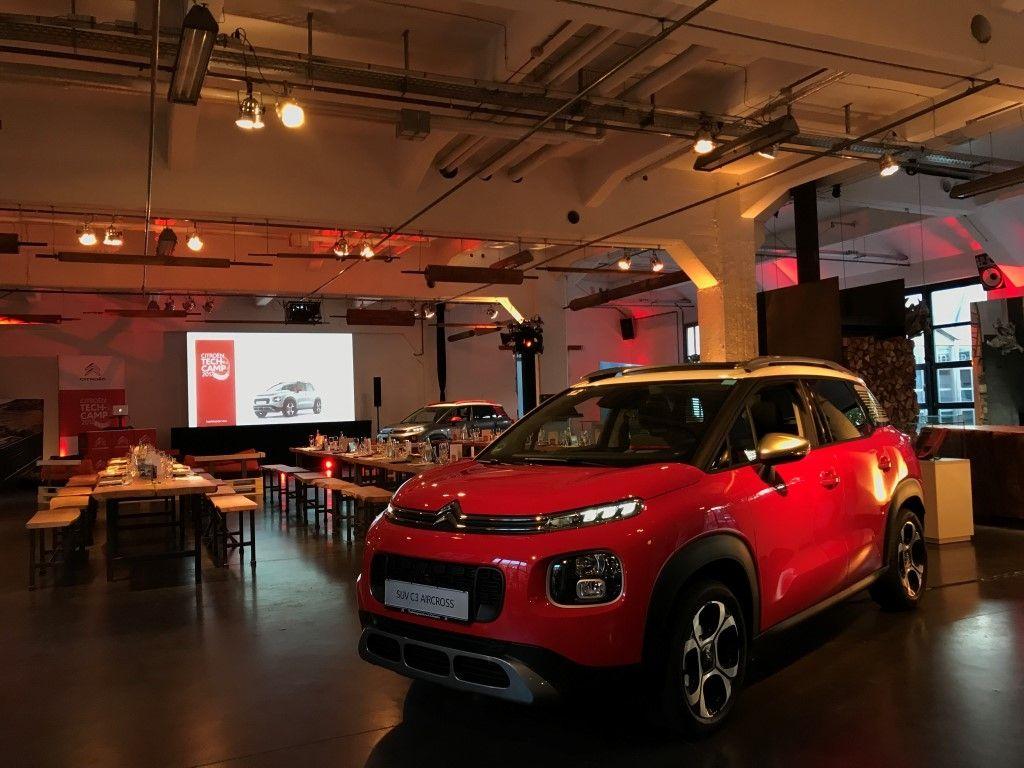 """CITROËN DEUTSCHLAND GmbH wählt Location """"Alte Tuchfabrik"""" für Automobilpräsentation"""